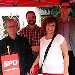 Mitglieder der SPD-Ortsvereine Bayenthal, Marienburg, Raderberg, Raderthal und Zollstock